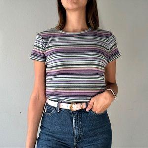 90's Gap striped shirt